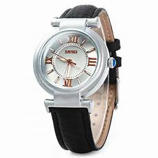 Skmei Jam Tangan Analog skmei jam tangan analog wanita 9075cl black