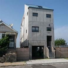 4 homes using concrete as a stylish concrete house far rockaway ny architect magazine