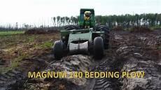 Savannah 140 Bedding Plow | savannah magnum 140 trailing bedding plow youtube