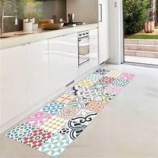 floorart tropez tapis de couloir multicolore