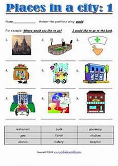 places in my city worksheets 15968 places in a city 1 worksheet for 2nd 4th grade lesson planet
