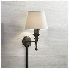 braidy bronze with copper plug in sconce with cord cover 58465 05178 ls plus
