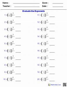 exponents and radicals worksheets exponents radicals worksheets for practice