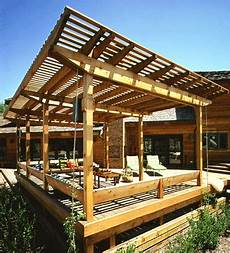 building a roof over a deck or patio