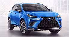 2021 lexus nx hybrid f sport black line comes fully loaded with gear carscoops