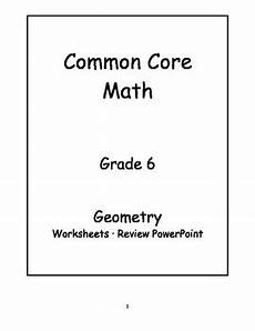 basic geometry worksheets for grade 6 641 6th grade common math geometry activities by tpt