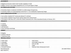 how to create a resume in html format studywithdemo