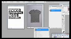 tutorial t shirt vorlage in photoshop erstellen