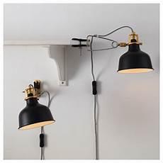 ranarp wall cl spotlight black ikea