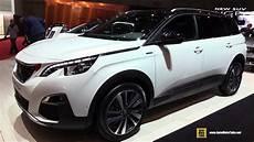 peugeot 5008 gt 2017 peugeot 5008 gt line exterior and interior walkaround 2017 geneva motor show
