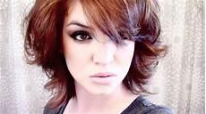 curls for short hair tutorial youtube