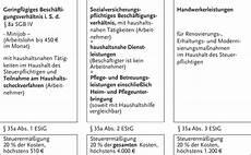 haushaltsnahe dienstleistungen steuererklärung zeile hauptvordruck einkommensteuererkl 228 rung mantelbogen