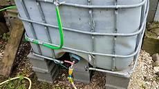 cuve d eau 1000l caler solidement une cuve 224 eau de 1000l m 233 thode des
