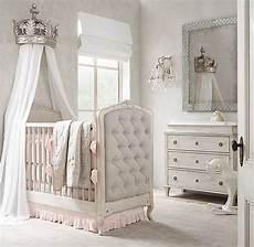 chambre bébé de luxe pewter demilune canopy bed crown