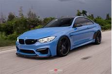 Bmw M4 Coupe Cars Blue Vossen Wheels Wallpaper 1600x1066
