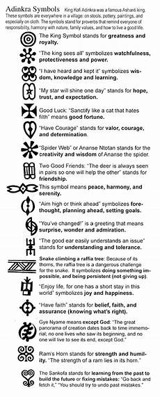 symbols and meanings only info i found on