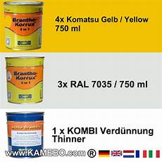 paint for komatsu building machines kamebo 174
