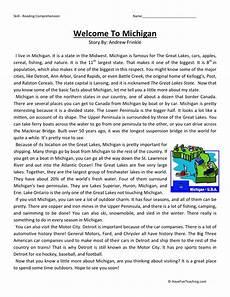 social studies reading comprehension worksheets