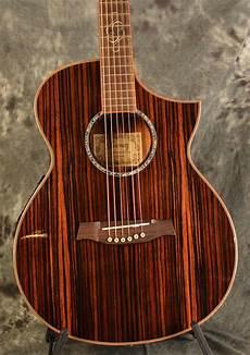 wood acoustic guitars ibanez ewc30 ebe striped gloss wood acoustic reverb