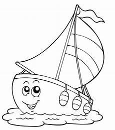 ausmalbilder zum drucken malvorlage segelschiff kostenlos 2