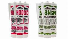 Unterschied Acryl Silikon - dichtstoff acryl oder silikon wo ist der unterschied