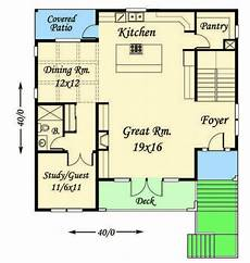 front sloping lot house plans modern house plan for front sloping lot 85102ms