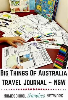 big things of australia travel journal for kids traveljournal journal kidsjournal australia