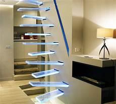 escalier d intérieur design escalier en verre par frederic hamerlak deco design
