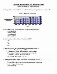 analyzing science data worksheets 12178 science inquiry skills and analyzing data worksheet by mrs d teaches third