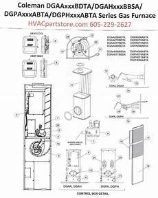 Dgaa056bdta Coleman Gas Furnace Parts Hvacpartstore