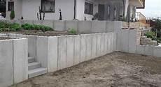 Mauerscheiben Garten Stufen Moderner Garten Und