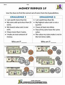 money printable worksheets 3rd grade 2692 money math worksheets money riddles