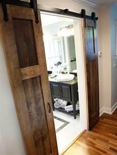 bathroom closet door ideas split barn door home design ideas pictures remodel and decor