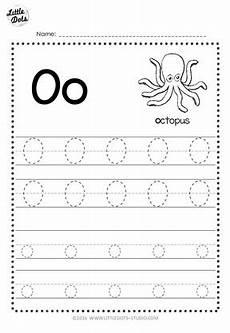 letter o tracing worksheets preschool 23921 free letter oo tracing worksheets
