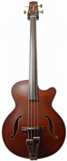 Takamine Tb 10 Semi Acoustic Fretless Bass Acoustic Bass
