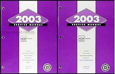 car repair manuals download 2003 chevrolet tracker parking system 2003 chevy tracker repair shop manual original 2 volume set