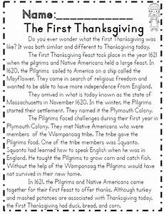 second grade thanksgiving math ela packet common core
