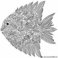 ausmalbilder f 252 r erwachsene bild fisch mit vielen details