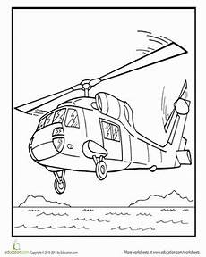 rescue vehicles coloring pages 16411 color the rescue helicopter coloring page education