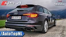 New Audi Rs4 B9 Avant Quattro 2 9 Tfsi Exhaust Sound