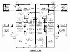 house plans for duplexes houseplans biz house plan d1392 b duplex 1392 b