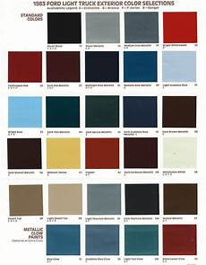 exterior paint codes gary s garagemahal the bullnose bible
