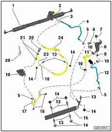 servoleitungen s4 b7 lenkung undicht audi a4 b6 b7