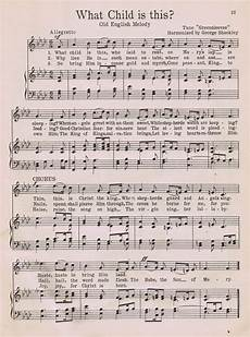 what child is this printable christmas music page knick of time
