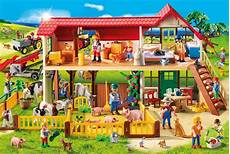 Playmobil Malvorlagen Bauernhof Playmobil Bauernhof Inklusive Figur 100 Teile