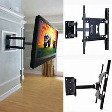arm articulating corner tilt swivel tv wall mount