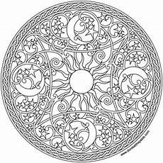 sun and moon mandala coloring pages at getcolorings