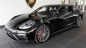 2017 Black Porsche Panamera Turbo  YouTube