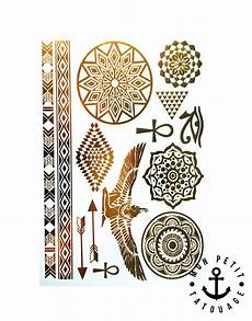 14 Tatouages Or 201 Gypte Mandala Fl 232 Ches Bracelets