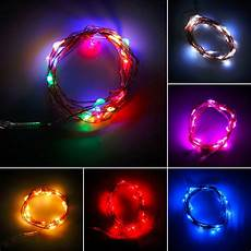 1 pc 2017 newest 2m 20 leds button battery operated led